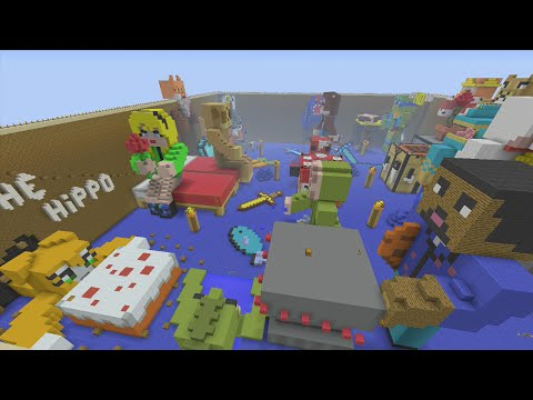 Minecraft Xbox - Youtubers Day Off - Hunger Games