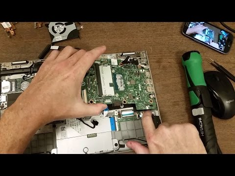 motherboard replacement, Dell Inspiron 7000 series 2 in 1
