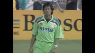 Pakistan vs New Zealand 1992 World Cup Semi Final Highlights HD (Rare)