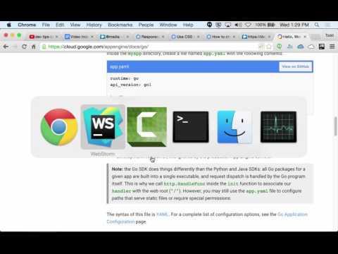 Go and Google App Engine