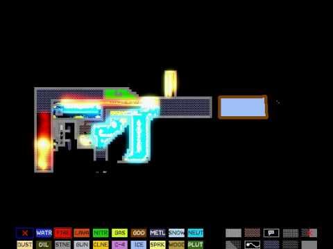 Powder toy-Laser cannon