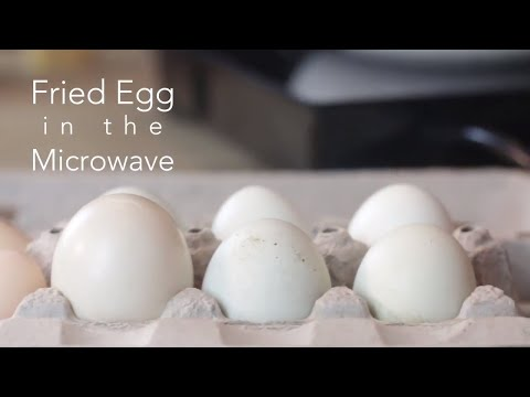 How To Cook Fried Eggs in the Microwave