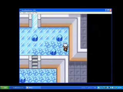 Pokemon Ruby: Sootopolis City GYM (pass through all the glasses)