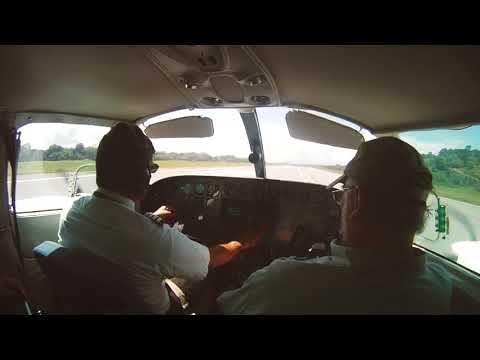 Flight from Roatan to Guanaja Honduras - The Fly Project Travel Tapes