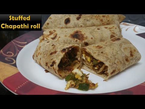 STUFFED CHAPATHI ROLL / IN TAMIL