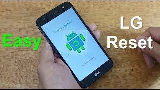 Hard Reset LG Phoenix 3 Model M150 - how to remove pattern