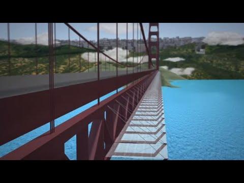 Golden Gate Bridge suicide prevention net begins construction
