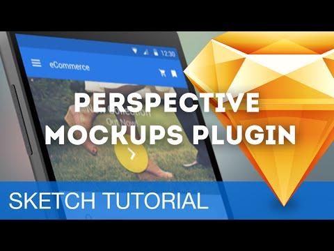 Perspective Mockups with MagicMirror Plugin • Sketch 3 Plugins Tutorial & Design Workflow