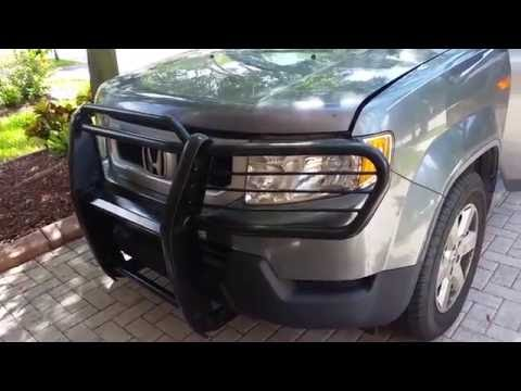 Tips for installing Bush Grill Guard for Honda Element 09 and older