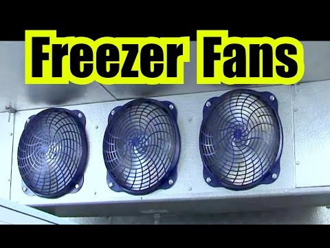 3 INDUSTRIAL FANS from a WALK IN FREEZER for 10 HOURS of HUMMING WHITE NOISE via FAN SOUND EFFECT