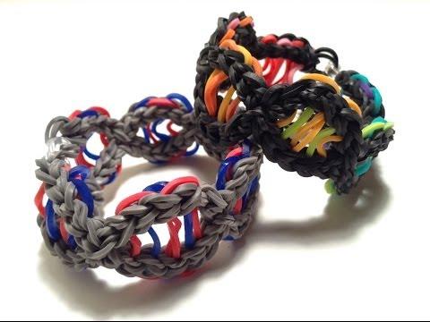 DNA Bracelet Tutorial- Original Rainbow Loom design