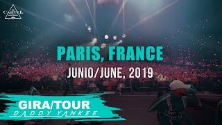 Daddy Yankee - Con Calma Gira/Tour Paris - France 2019