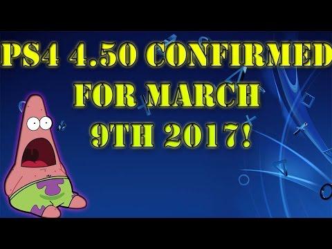 PS4 4.50 Update Date Confirmed/Trailer!