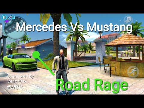 #LIFE 5 ROAD RAGE - DRIVING CARS MERCEDES BENZ MUSTANG GANGSTAR VEGAS 4