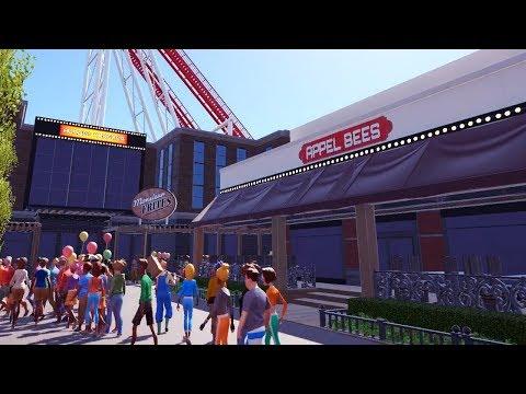 appel bees - planet coaster - PlanCo CityWalk
