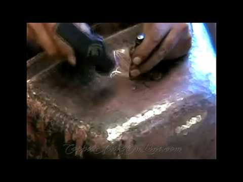 Copper Sinks 101 - See How Copper Sinks Are Made