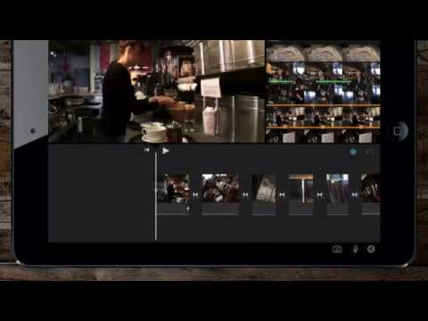 iMovie iOS for iPad tutorial - fast tour guide