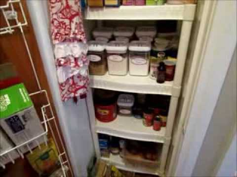 How to Turn a Coat Closet Into A Pantry | Pantry Organization for Small Space