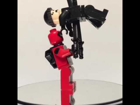 PatSonBricks Custom Minifigure: Deadpool Kebap