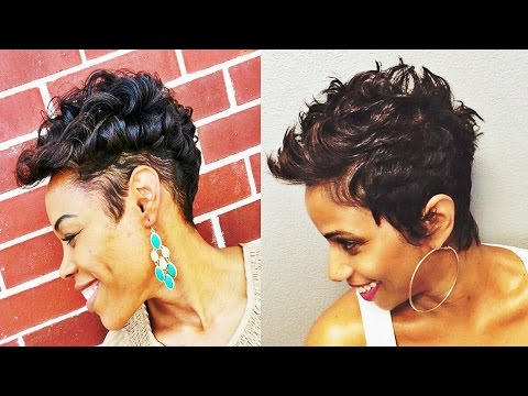 Adorable Short Hairstyles for African American Women