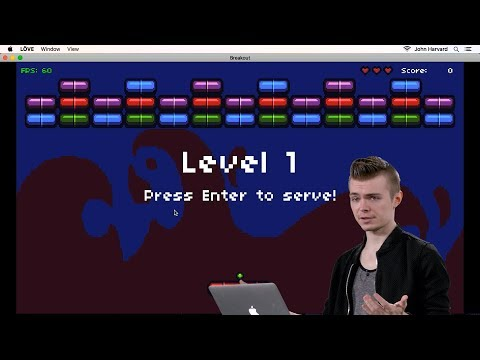 Breakout - Lecture 2 - CS50's Introduction to Game Development