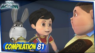 Vir The Robot Boy | Animated Series For Kids | Compilation 81 | WowKidz Action