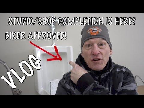 Law Abiding Biker Podcast & Media Studio & Shop-Moving in-Completion! VLOG