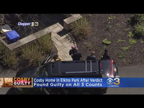 Cosby Under House Arrest In Elkins Park After Guilty Verdict