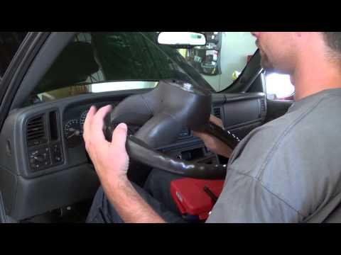 Chevrolet Silverado Modification Grant Leather Steering Wheel