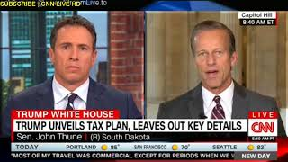 "Trump clims republicans ""have the votes"" on health care CNN news live"