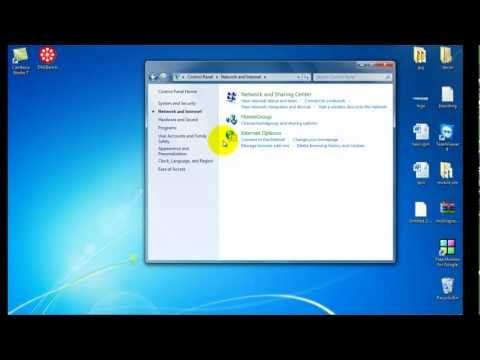 How to Change IP Address Windows 7