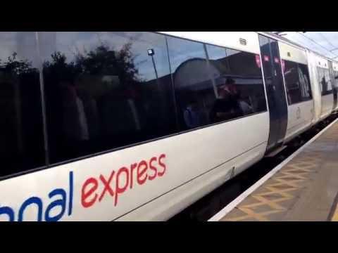 C2C Train at Chafford Hundred (Lakeside)