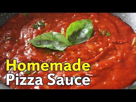 Homemade Pizza Sauce   Quick & Easy Pizza Sauce Recipe   Kanak's Kitchen