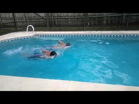 Friday training | 1st exercise | swimming | laps 🏊☀️