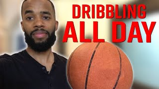 I Dribbled A Basketball For An Entire Day