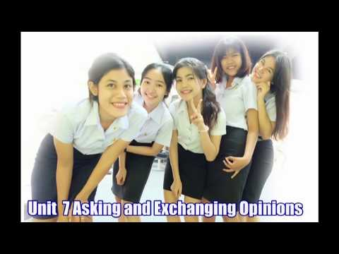 Asking and Exchanging Opinion การถามและแลกเปลี่ยนความเห็น 2