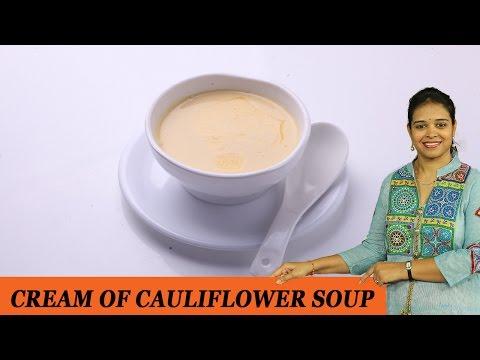 CREAM OF CAULIFLOWER SOUP - Mrs Vahchef
