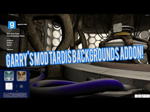 Tardis Backgrounds for Garry's Mod - Addon Download!
