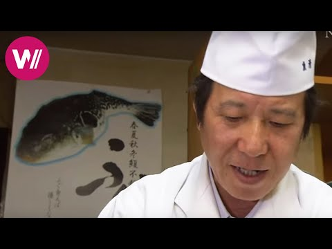 Fugu | how to prepare the deadly pufferfish shown by