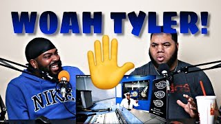 Tyler The Creator - Hot97 Freestyle (VERY FUNNY) - REACTION!!