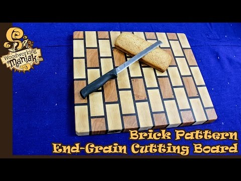 Make a Brick End-Grain Cutting Board