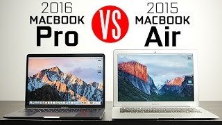 2016 Macbook Pro vs Macbook Air