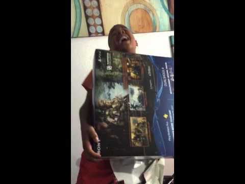 Santa Brings Boy a PS4 for Christmas and he goes Nuts!