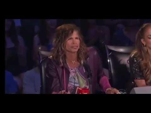 Steven Tyler's Leers on American Idol (Jimmy Kimmel Live - 1/16/13)
