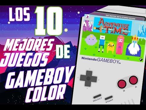 LOS 10 MEJORES Juegos De GameBoy COLOR HD + Links de DESCARGA ESPAÑOL