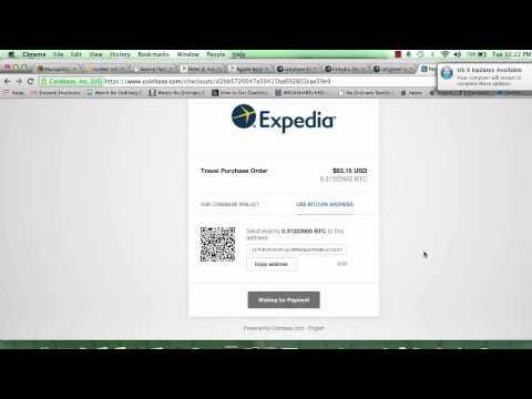 Booking Hotel di Expedia bayar guna Bitcoin