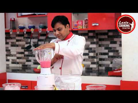 Banana Strawberry Shake | Best Indian Dishes & Recipes | Learn Cooking Online