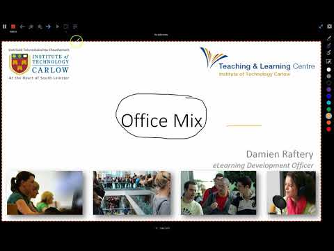 Office Mix Quick Introduction