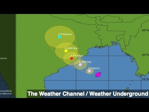 Massive Cyclone Half the Size of India to Make Landfall