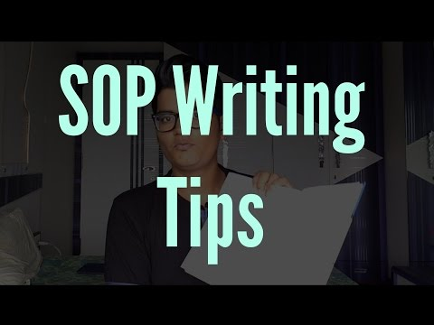 How to writing an amazing Statement of Purpose(SOP) Essay -